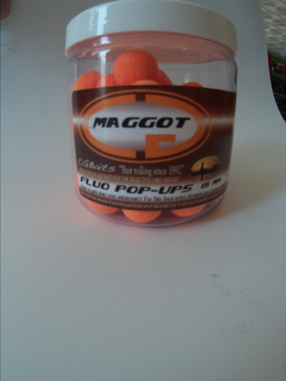 POP-UP MAGGOT 15MM