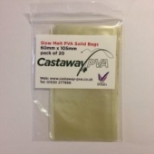 SLOW MELT SOLID PVA BAGS 60.105