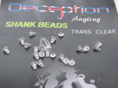 SHANK BEADS TRANS CLEAR
